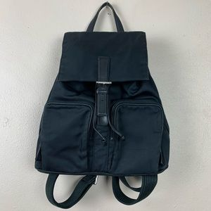 Coach Vintage All Black Canvas Backpack